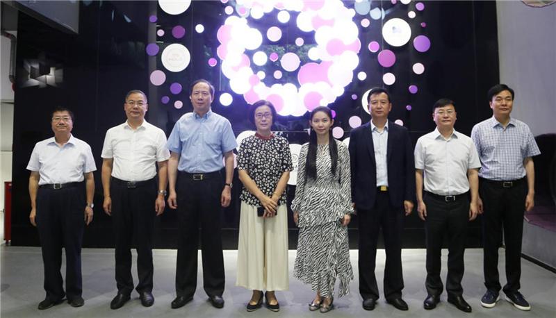 江西省省委常委、副省长、省政府副秘书长一行前往洋葱集团调研