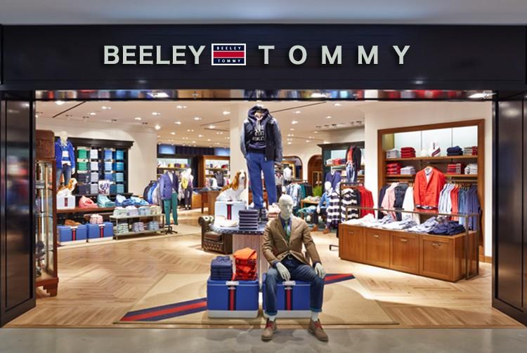 """""""比利汤米/BEELEY TOMMY""""男装北京华联商厦专柜开业"""